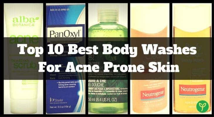 The Best 10 Acne Body Washes of 2017: Which Is Really Effective?