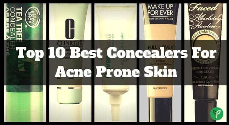 Best Concealers for Acne Prone Skin - 2017 Reviews and Top Picks