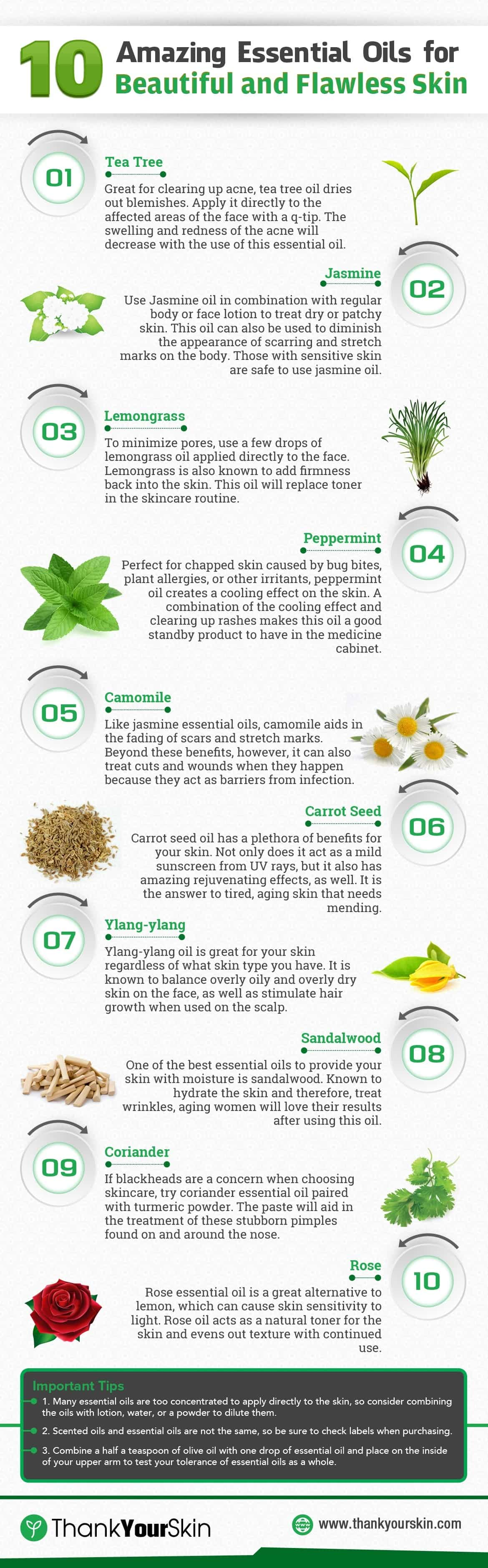 10 Amazing Essential Oils For Beautiful And Flawless Skin