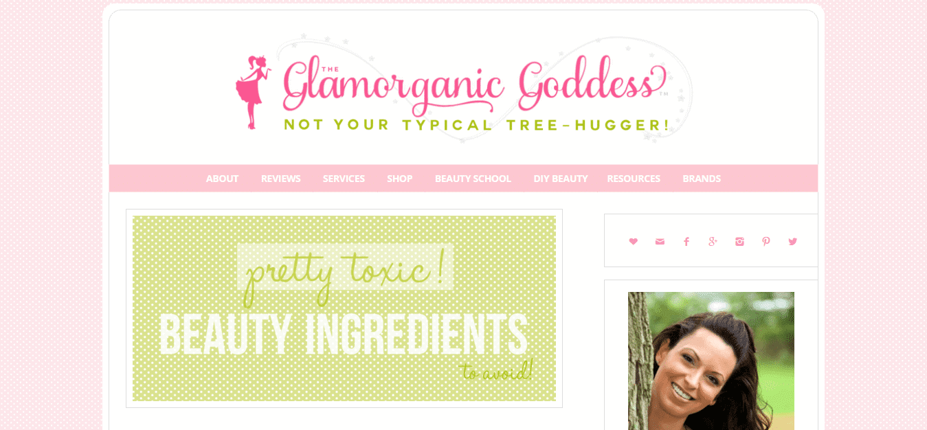 The Glamorganic Goddess