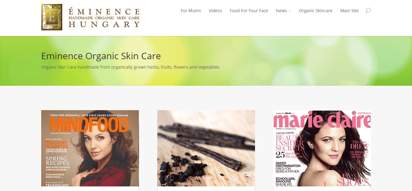 Eminence Organics Blog   Natural Organic Skin Care