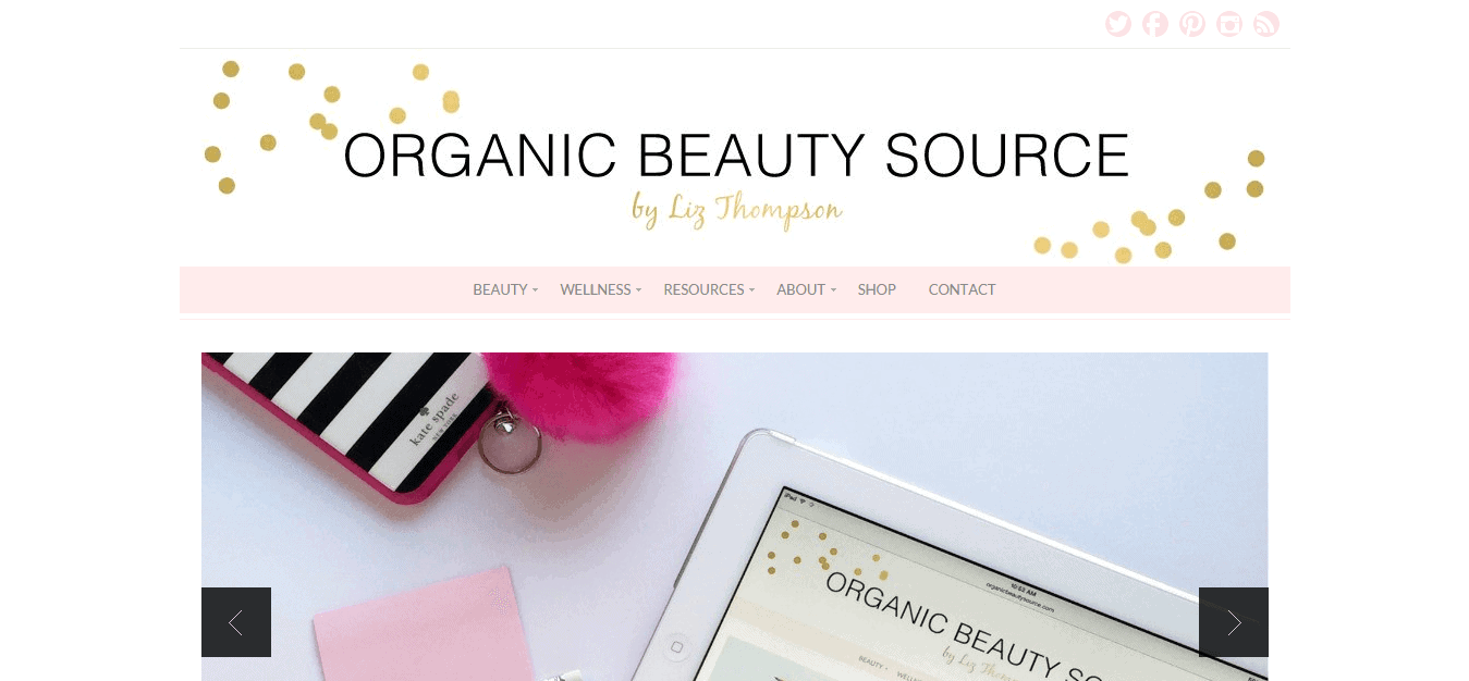 ORGANIC BEAUTY SOURCE   Your source for all things organic beauty.
