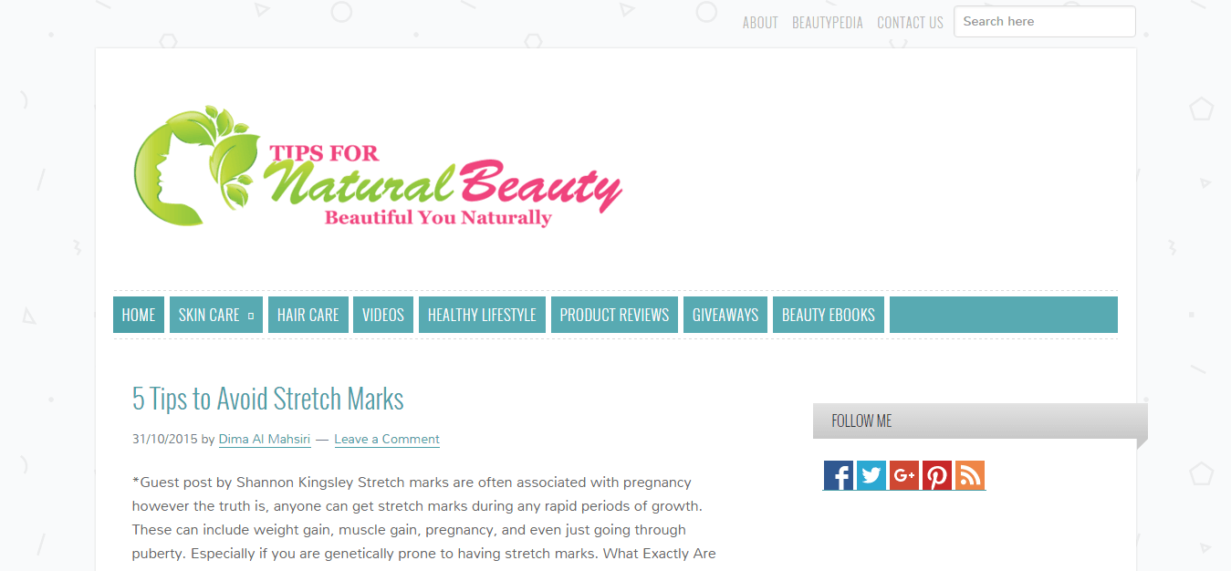 Tips for Natural Beauty for Skin and Hair