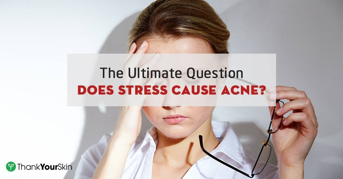 Hasil gambar untuk Does Stress Cause Acne