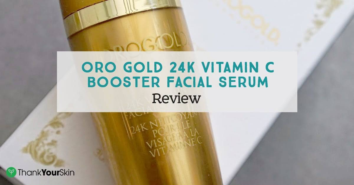 Oro Gold 24K Vitamin C Booster Facial Serum Review