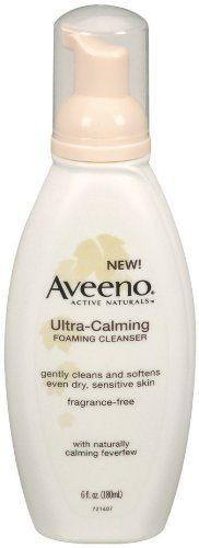 Top rated Cleansers for Rosacea - Aveeno's Active Naturals Ultra Foaming Cleanser