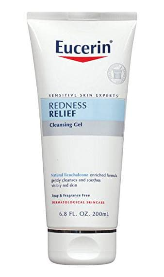 Top picks Cleansers for Rosacea - Sensitive Skin Redness Relief Soothing Cleanser by Eucerin