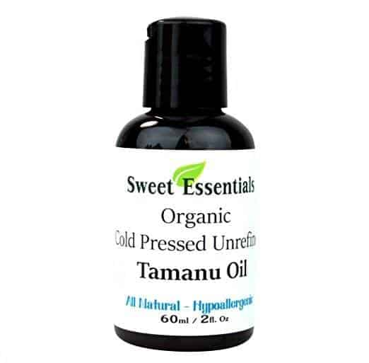 Best Essential Oils for Rosacea review - Sweet Essential's 100% Pure Unrefined Organic Tamanu (Foraha) Oil