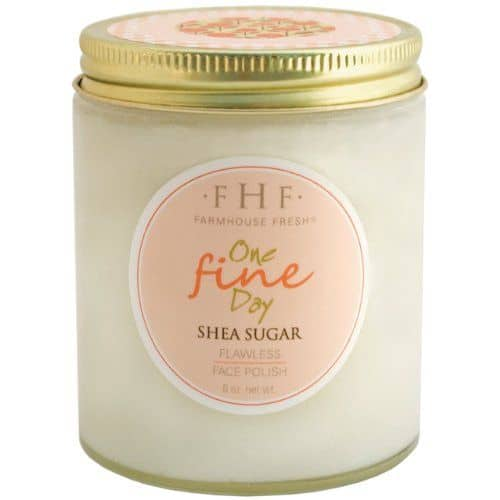 Top picks Exfoliators for Rosacea - FarmHouse Fresh FarmHouse Fresh One Fine Day Shea Sugar Facial Polish