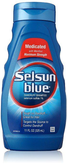 Best Shampoos for Rosacea comparisions - Medicated Maximum Strength Dandruff Shampoo by Selsun Blue