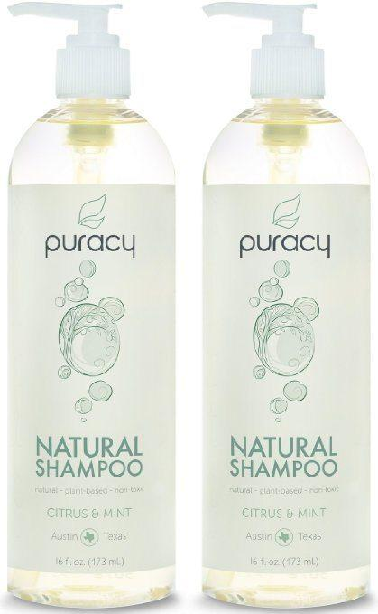 Best Shampoos for Rosacea comparisions - Puracy's Natural Shampoo