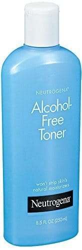 Best Toners for Rosacea - Alcohol-Free Toner by Neutrogena