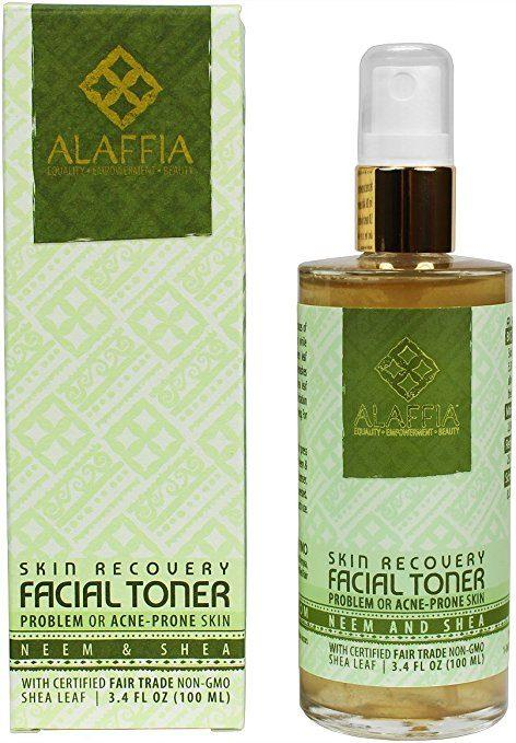Top picks Toners for Rosacea - Neem & Shea Butter Skin Recovery Facial Toner by Alaffia