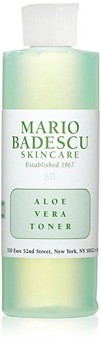 Best Toners for Rosacea review - Mario Badescu Skincare's Aloe Vera Toner