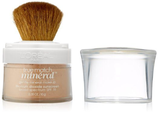 Best Powders for acne prone skin comparisions - L'Oreal Paris Mineral Foundation