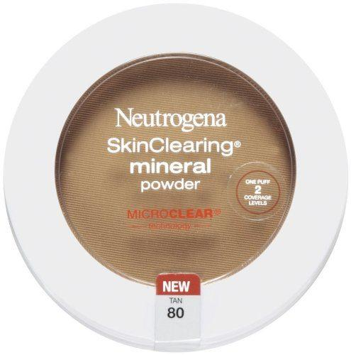 Best Powders for acne prone skin comparisions - Neutrogena Skin Clearing Mineral Powder