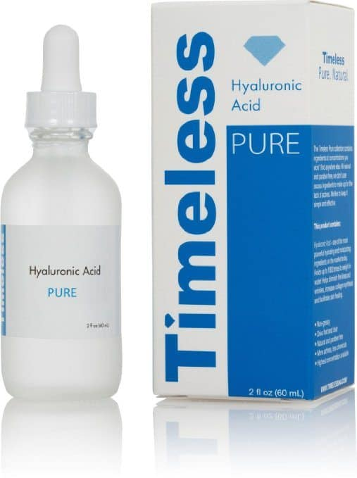 best Hyaluronic Acid Serum -Timeless Skin Care The Original Hyaluronic Acid Serum