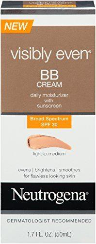 Best BB Creams for Oily Skin - Neutrogena's Visibly Even BB Cream Broad Spectrum SPF 30