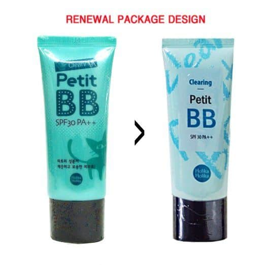 Best BB Creams for Oily Skin comparisions - Clearing Petit BB Cream by Holika Holika