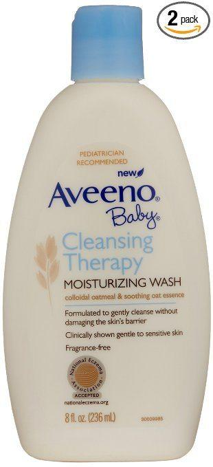 Best Body Wash for Eczema - Aveeno Baby's Cleansing Therapy Moisturizing Wash