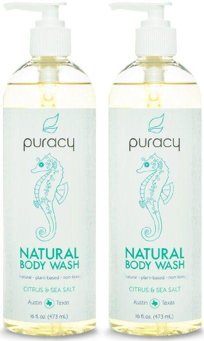 Best Body Wash for Eczema review - Puracy's Natural Body Wash
