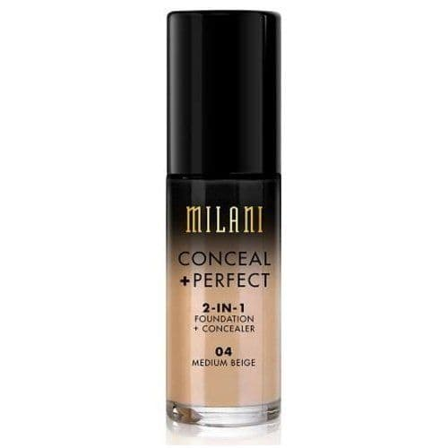 Best Concealer for Oily Skinn review - Conceal + Perfect 2-in-1 Foundation + Concealer, Medium Beige by Milani