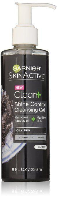 Best Face Wash for Oily Skin - Garnier SkinActive Clean+ Shine Control Cleansing Gel
