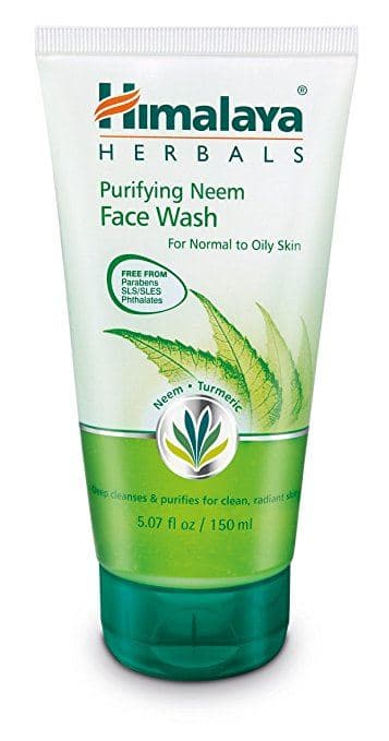 Top rated Face Wash for Oily Skin - Himalaya Neem Face Wash
