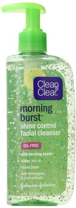 Top picks Face Wash for Oily Skin - Clean & Clear Morning Burst Shine Control Facial Cleanser