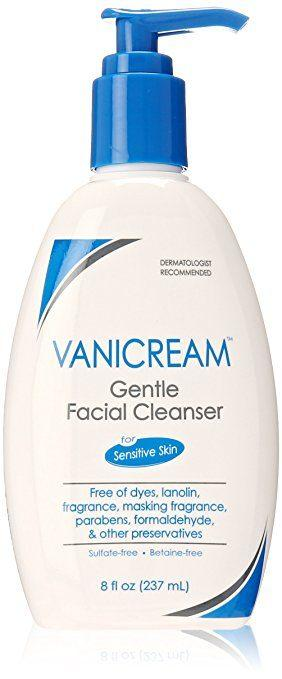 Best Face Washes For Eczema - Vanicream Gentle Facial Cleanser