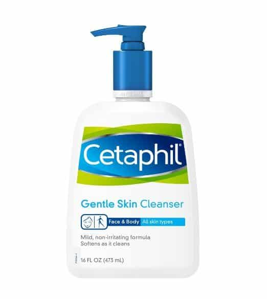 Best Face Washes For Eczema review - Cetaphil Gentle Skin Cleanser