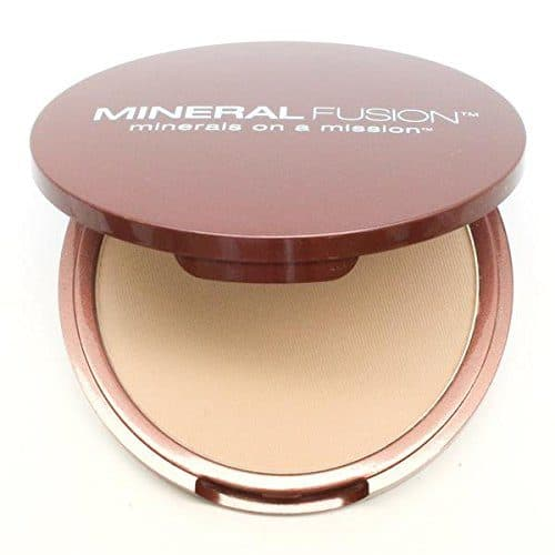 Best Foundation for Eczema review - Mineral Fusion Pressed Powder Foundation