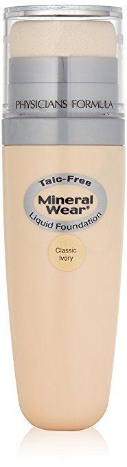 Best Foundation for Eczema - Physicians Formula Mineral Wear Talc-Free Liquid Foundation