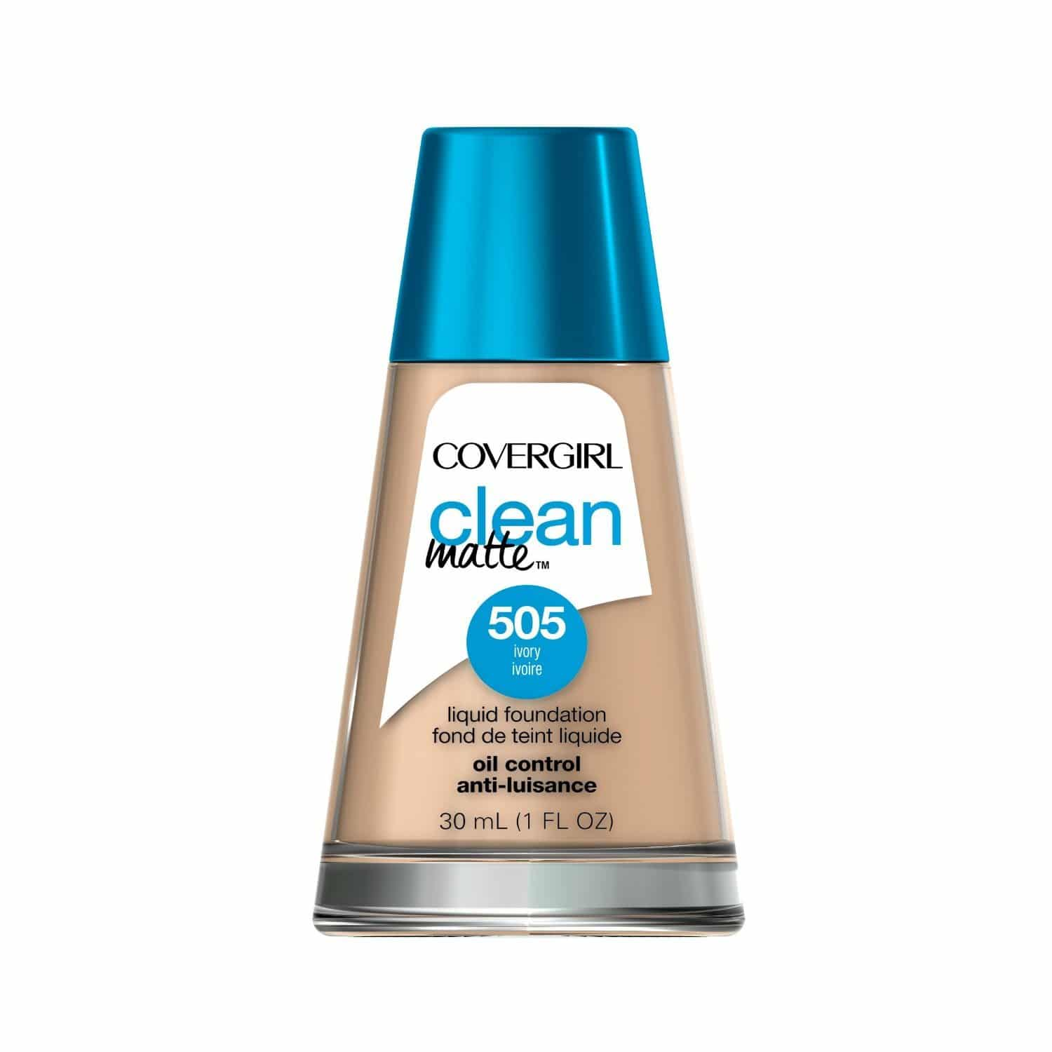 Best Foundation for Oily Skin comparisions - CoverGirl Clean Oil Control Liquid Makeup
