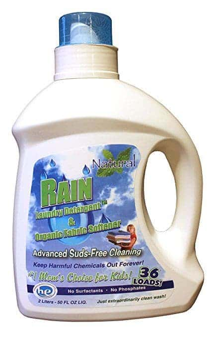 Best Laundry Detergent for Eczema review - Organic Rain Laundry Detergent by Mineral Methods