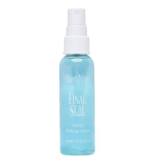 Top rated Makeup Setting Spray for Oily Skin  - Final Seal Matte Makeup Sealer by Ben Nye