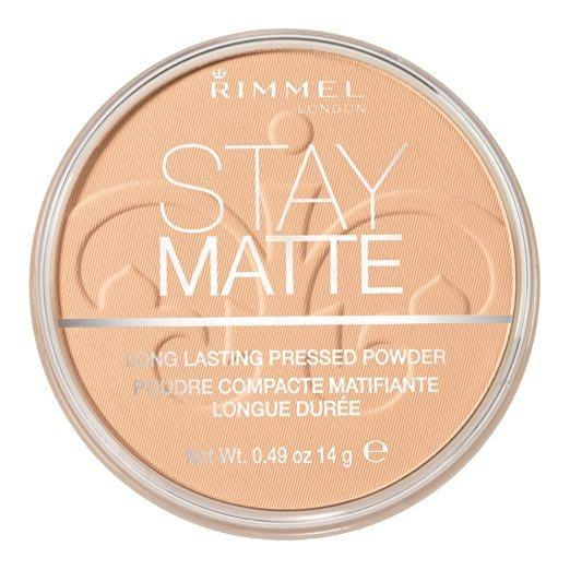 Top rated Powders for Oily Skin  - Rimmel's Stay Matte Pressed Powder