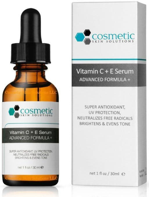 Best Serum for Oily Skin review - Cosmetics Skin Solution Vitamin C+E Serum