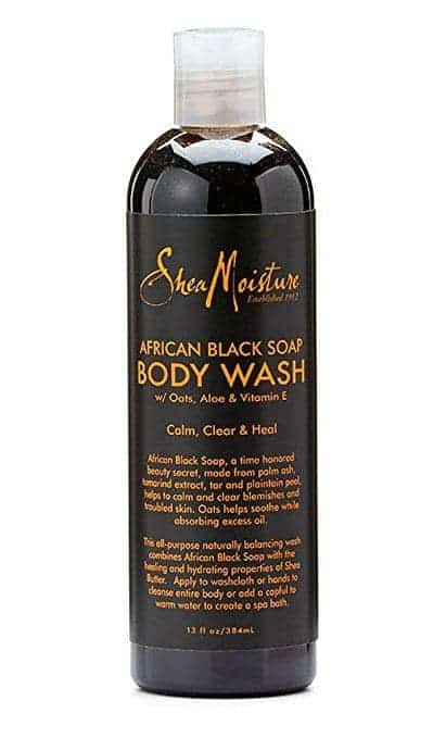 Best Soap for Psoriasis review - SheaMoisture's African Black Soap Body Wash