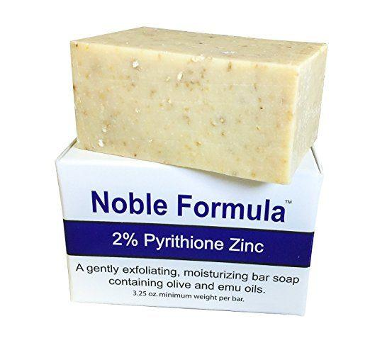 Best Soaps For Eczema comparisions - 2% Pyrithione Zinc (ZnP) Bar Soap by Noble Formula