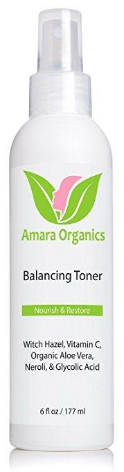 Top rated Toner for Oily Skin - Amara Organics Balancing Toner