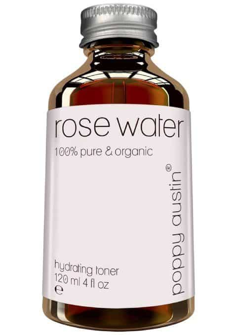 Best Toner for Oily Skin - Poppy Austin 100% Pure Rose Water Facial Toner