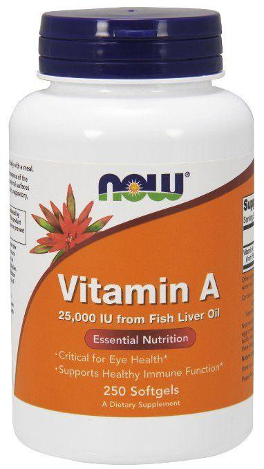 Best Vitamins and Supplements for Rosacea - Now Foods Vitamin A