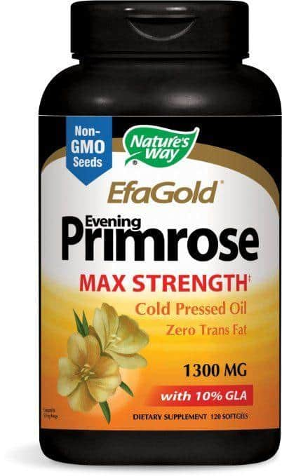 Top rated Vitamins and Supplements for Rosacea - Nature's Way EfaGold Evening Primrose