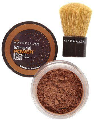 Best Bronzer for Oily Skin - Maybelline Mineral Power Bronzer