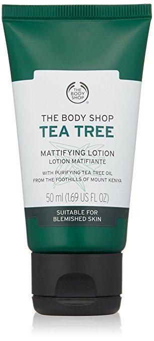 Top rated Face Lotion for Oily Skin  - Tea Tree Mattifying Lotion by The Body Shop