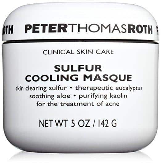 Best Face Mask for Oily Skin review - Peter Thomas Roth's Sulfur Cooling Masque