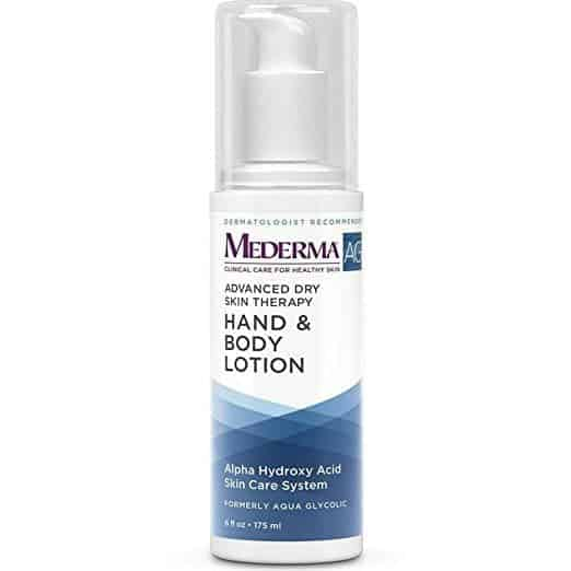 Glycolic acid body lotion
