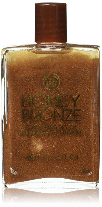 Best Body Bronzer - Shimmering Dry Oil Honey by The Body Shop
