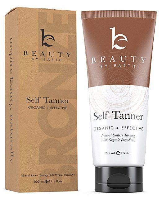 Best Bronzer for Pale Skin - Self Tanner by Beauty by Earth